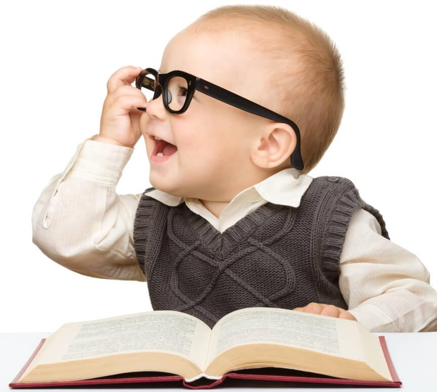Ini Lho Ciri-ciri Bayi Yang Cerdas