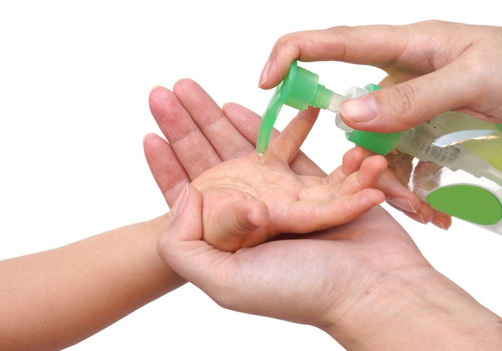 Amankah Apabila Bayi Menggunakan Hand Sanitizer ?
